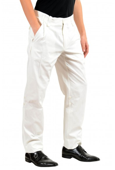 Dolce & Gabbana Men's White Adjustable Casual Pants: Picture 2