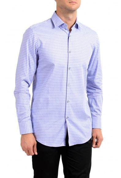 "Hugo Boss Men's ""Marley US"" Sharp Plaid Long Sleeve Dress Shirt"