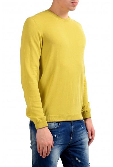 Malo Men's Crewneck Light Pullover Green Sweater: Picture 2