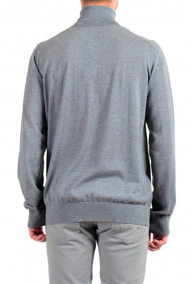 Versace Men's 100% Wool Gray Turtleneck Pullover Sweater: Picture 2