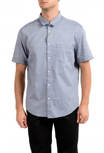 "Hugo Boss Men's ""C-Baulino"" Regular Fit Striped Casual Shirt"
