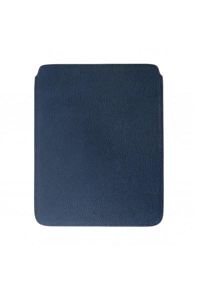 Versace Collection Navy Blue Textured Leather Cover Case: Picture 2