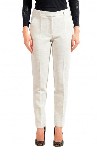 "Hugo Boss Women's ""Acnes9"" Gray Dress Pants"