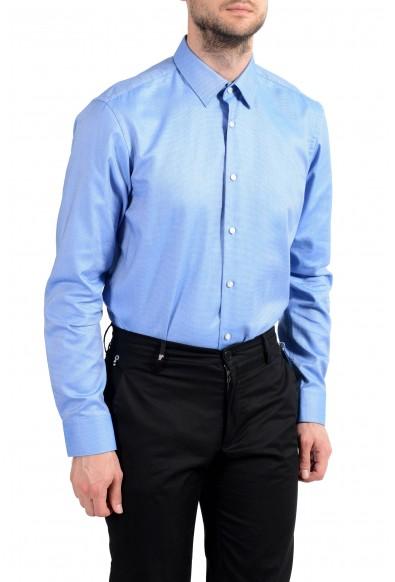 "Hugo Boss ""Eliott"" Men's Blue Long Sleeve Dress Shirt: Picture 2"
