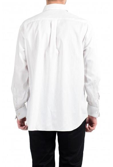 Armani Collezioni Men's Striped Long Sleeve Dress Shirt : Picture 2
