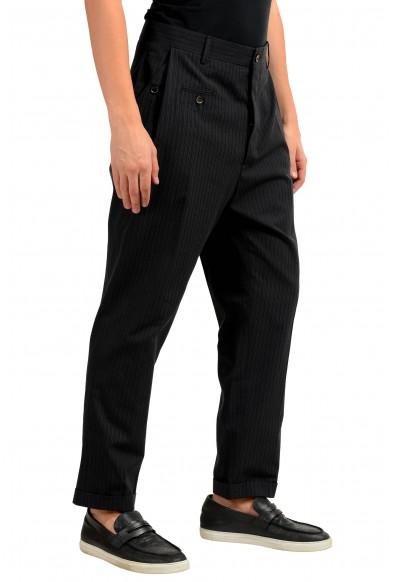 Dolce & Gabbana Men's Wool Striped Dress Pants: Picture 2