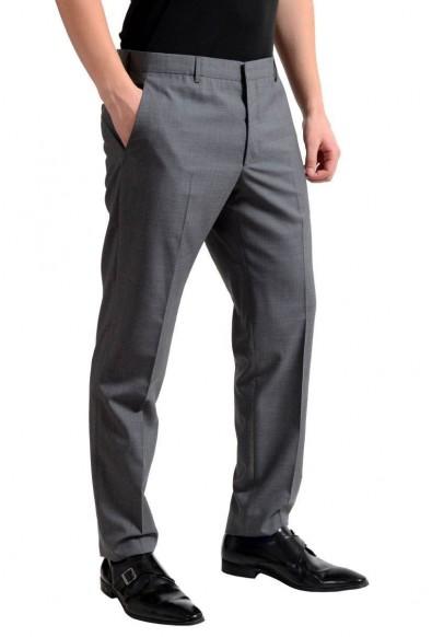 Prada Men's 100% Wool Gray Flat Front Dress Pants : Picture 2