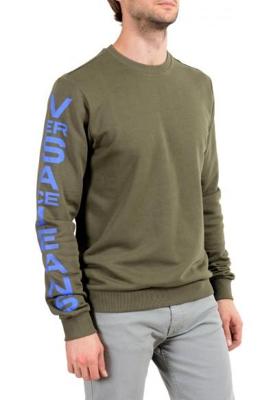 Versace Jeans Men's Green Logo Sweatshirt : Picture 2