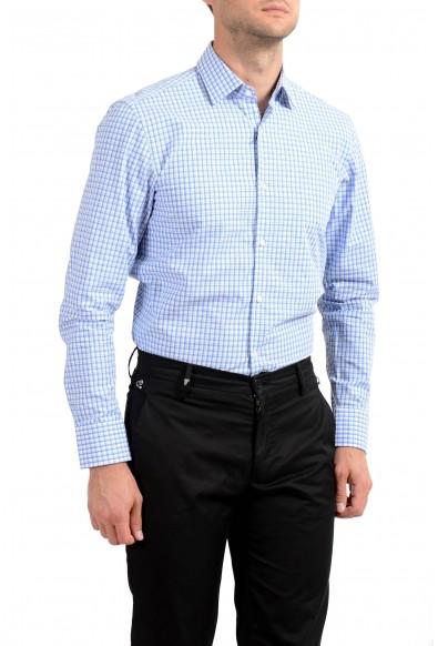 Hugo Boss Men's Marley US Sharp Fit Plaid Long Sleeve Dress Shirt: Picture 2
