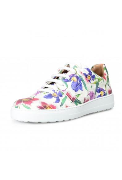 """Salvatore Ferragamo Women's """"FASANO"""" Multi-Color Leather Fashion Sneakers Shoes"""