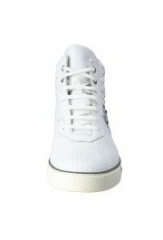 Gianni Versace Men's Leather Hi Top Sneakers Shoes : Picture 2