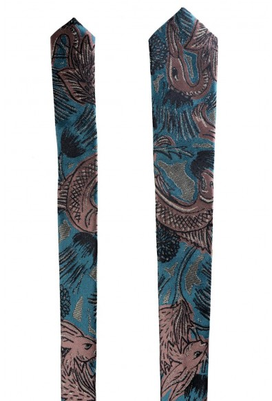 Burberry 100% Silk Multi-Color Patterned Men's Tie: Picture 2