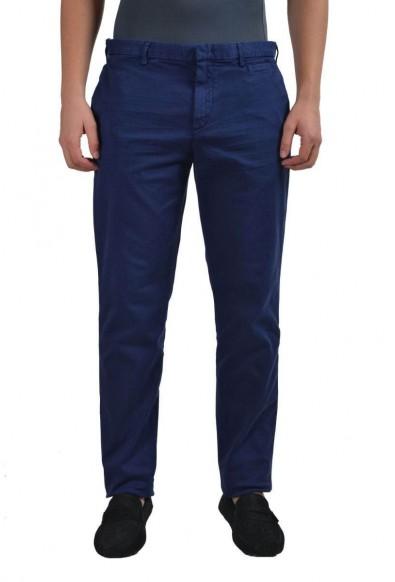 Prada Men's Dark Blue Casual Pants