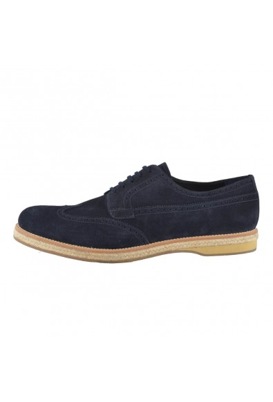 Prada Men's Nubuck Leather Oxfords Wing Tip Shoes : Picture 2