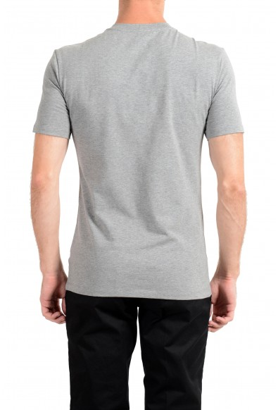 Versace Collection Men's Gray Graphic Crewneck T-Shirt: Picture 2