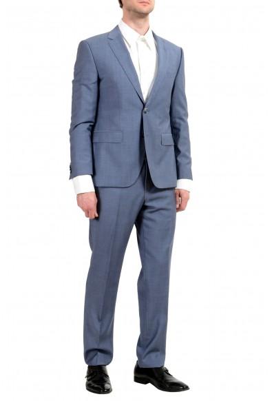 "Hugo Boss ""C-Jeys1/C-Shaft1"" Men's 100% Wool Blue Two Button Suit: Picture 2"