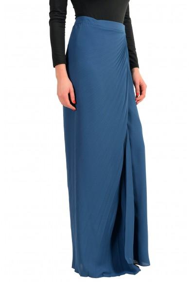 Maison Margiela 4 Blue Women's Pleated Maxi Skirt : Picture 2