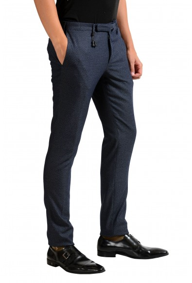 "Slowear Incotex ""Skin Fit"" Men's Wool Bluish Dress Pants: Picture 2"