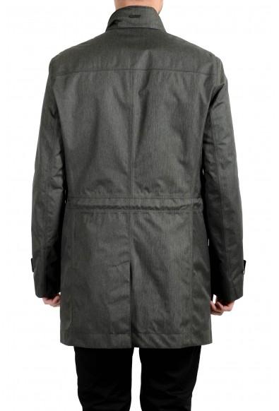 """Hugo Boss """"Daren4"""" Men's Gray Full Zip Windbreaker Jacket: Picture 2"""