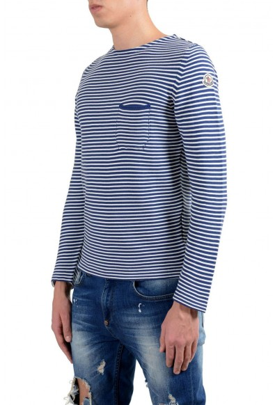Moncler Men's Striped Crewneck Light Sweater: Picture 2