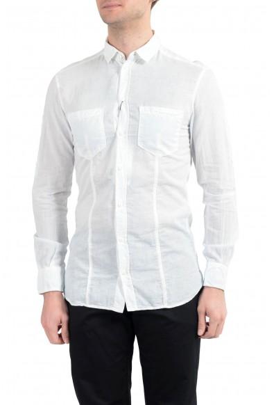 """Dolce & Gabbana D&G Men's """"Brad"""" Light Blue Long Sleeve Dress Shirt"""