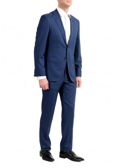 "Hugo Boss ""Johnstons5/Lenon1"" Men's 100% Wool Blue Two Button Suit: Picture 2"