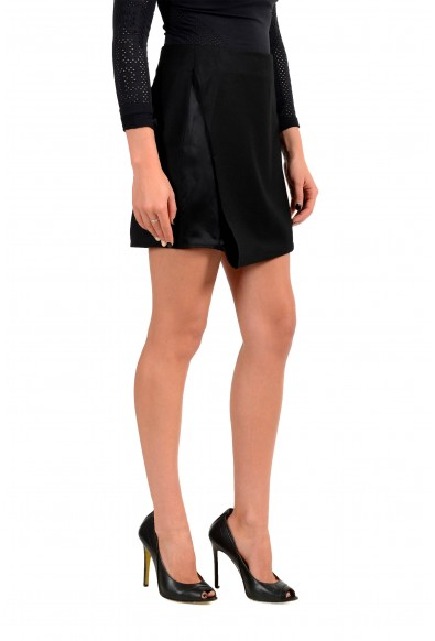 Maison Margiela MM6 Women's Black 100% Wool Mini Skirt : Picture 2