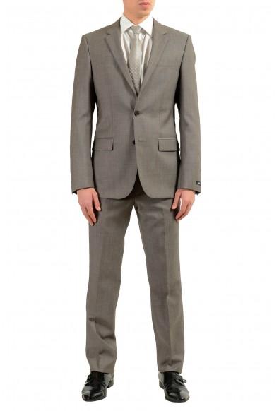 """Hugo Boss """"Halsey/Merrill2"""" Men's 100% Wool Gray Two Button Suit"""