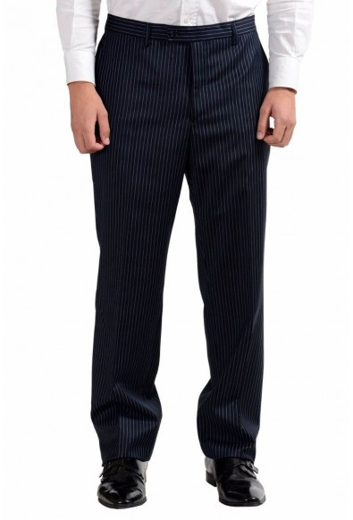 Versace Collection Men's 100% Wool Striped Two Button Suit : Picture 2