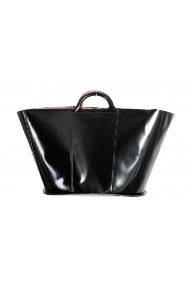 Marni Women's Black 100% Leather Bucket Handbag Bag: Picture 2