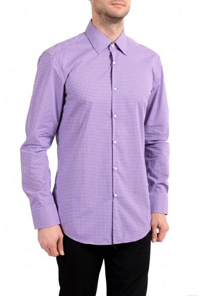 "Hugo Boss ""Jacob"" Men's Slim Plaid Button Down Long Sleeve Dress Shirt"