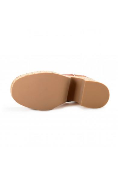 Miu Miu Women's 5E017D Leather High Heel Platform Boots Shoes: Picture 2