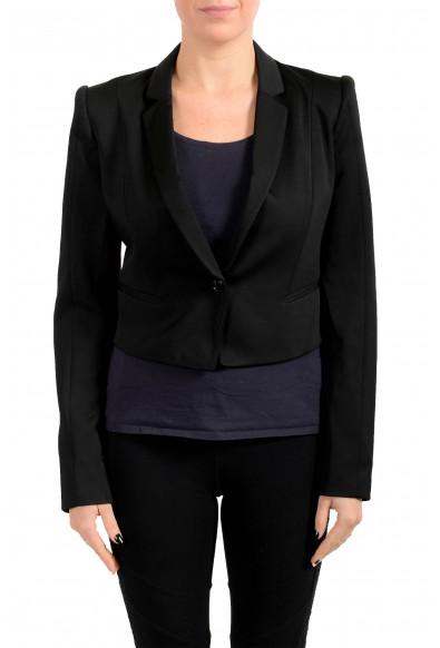 Just Cavalli Women's Black One Button Blazer
