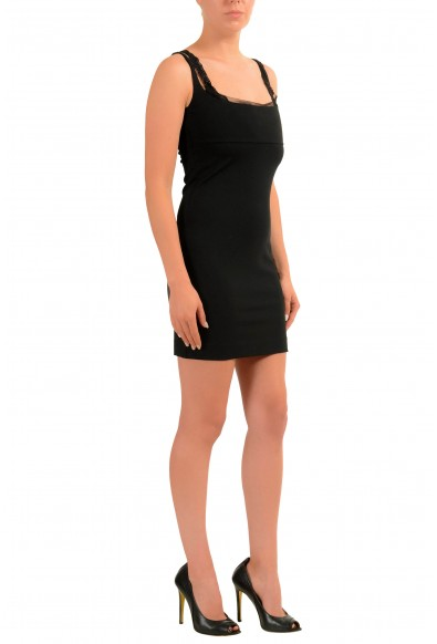 Dsquared2 Black Sleeveless Women's Bodycon Dress: Picture 2