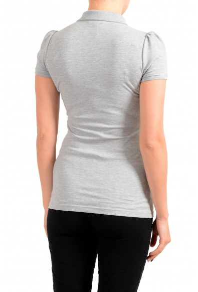 Burberry Women's Gray Short Sleeves Polo Shirt : Picture 2