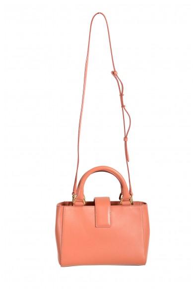 "Jimmy Choo Women's Powder Pink Leather ""Lockett"" Shoulder Crossbody Bag: Picture 2"