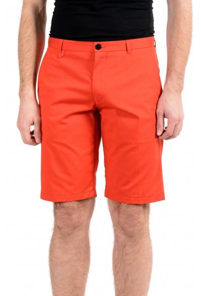 "Hugo Boss ""Hano3"" Men's Red Stretch Casual Shorts"
