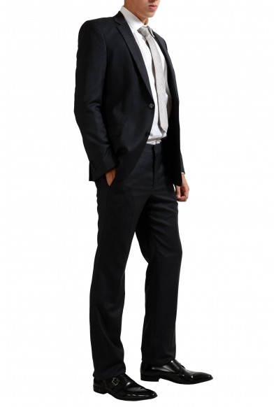 Versace Collection Wool Cashmere Gray Two Button Men's Suit: Picture 2