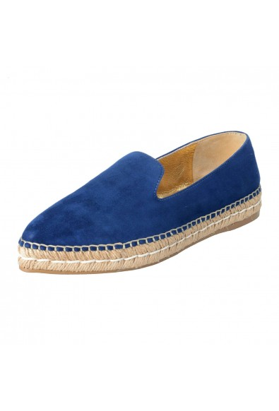Prada Women's Suede Leather Moccasins Loafers Flats Shoes
