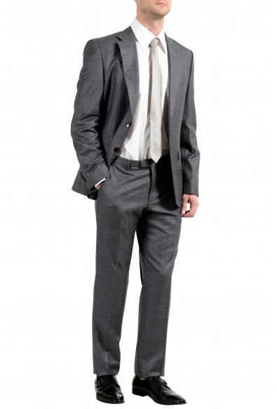 "Hugo Boss ""Johnstones4/Lenon1"" Men's Gray Silk Wool Linen Two Button Suit: Picture 2"