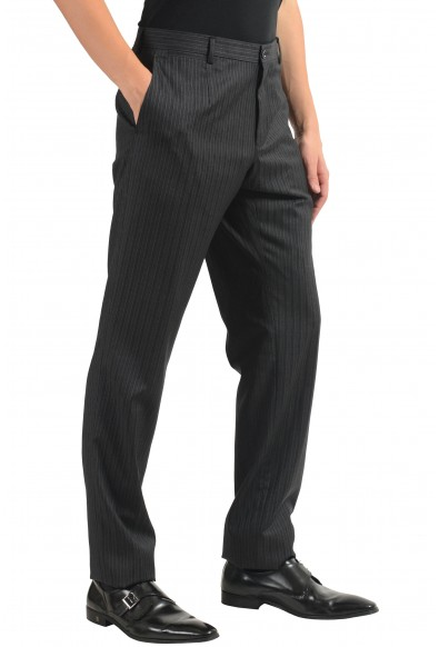 Dolce & Gabbana Men's 100% Wool Striped Dress Pants: Picture 2