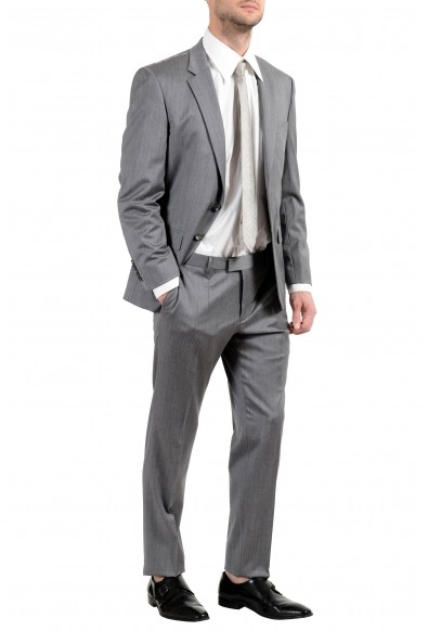 """Hugo Boss """"T-Harvers4/Glover2"""" Men's Slim 100% Wool Gray Two Button Suit: Picture 2"""
