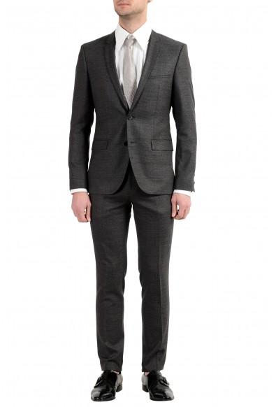 """Hugo Boss """"Adrias4/Heilon"""" Men's 100% Wool Two Button Suit"""