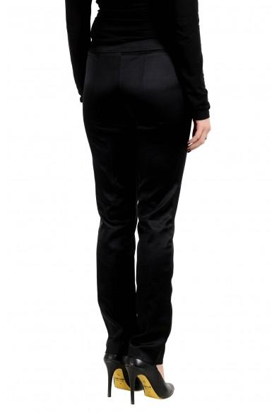 Malo Women's Silk Black Casual Pants: Picture 2