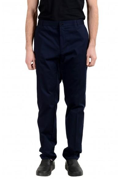 "Hugo Boss ""Heldor2"" Men's Dark Blue Stretch Casual Pants"