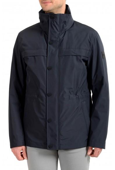"Hugo Boss Men's ""Comolo"" Blue Parka Jacket With Detachable Coat"
