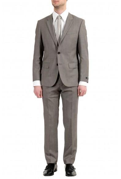 """Hugo Boss """"Halsey2/Merrill2"""" Men's 100% Wool Brown Two Button Suit"""