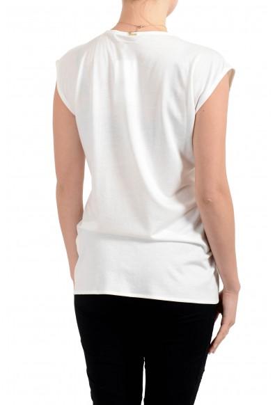 """Hugo Boss Women's """"Esiva"""" White Sleeveless Blouse Top: Picture 2"""
