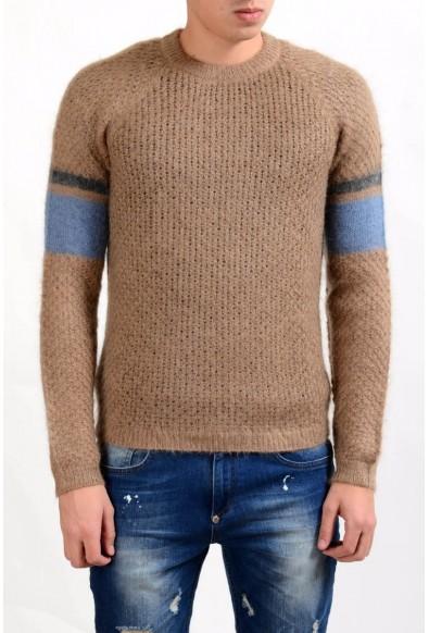 Prada Men's Mohair Wool Crewneck Sweater