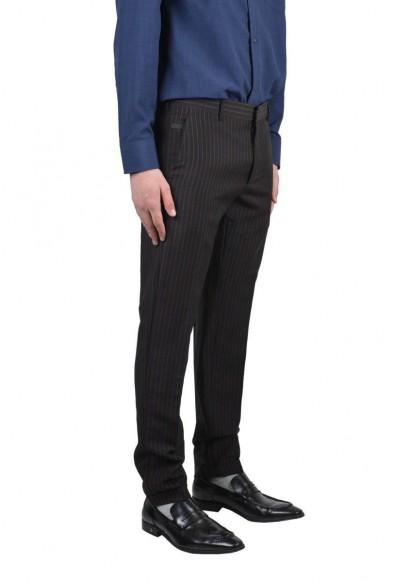 Prada Men's Multi-Color Striped Wool Mohair Dress Pants: Picture 2